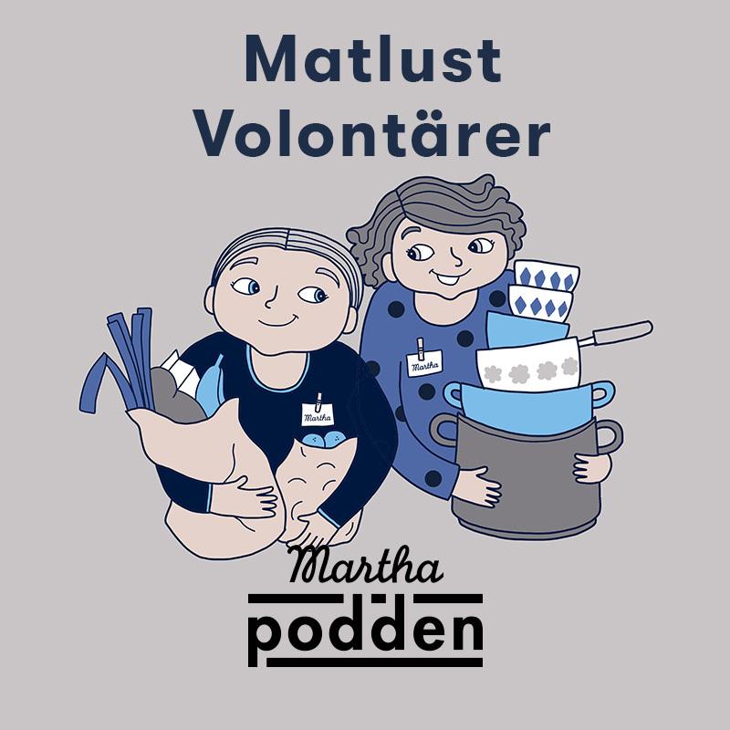 Matlust volontarer podd 2